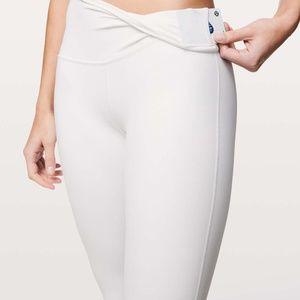 """*DEAL* NEW Lululemon Align Pant 25"""" White Size 6"""